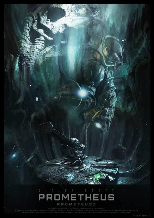 PROMETHEUS - movie poster by P-Lukaszewski
