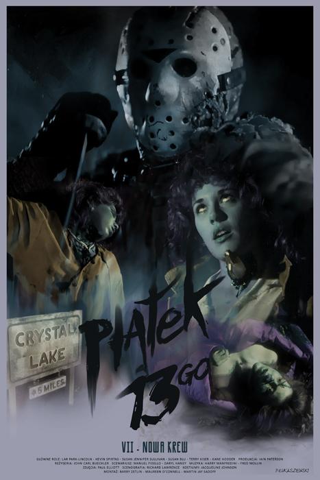 FRIDAY the 13th - Jason Voorhees - movie poster by P-Lukaszewski