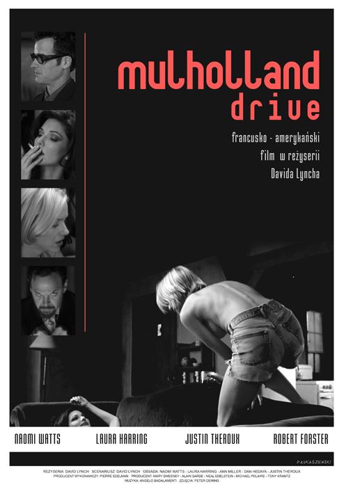 MULHOLLAND DRIVE - movie poster by P-Lukaszewski