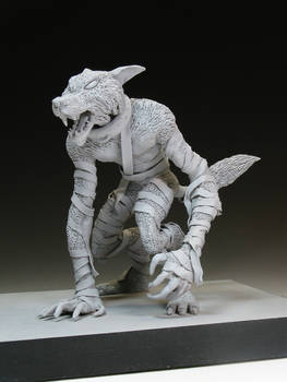 The WolfMan... In Clay