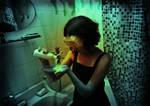 slow death in bathroom by nervoza