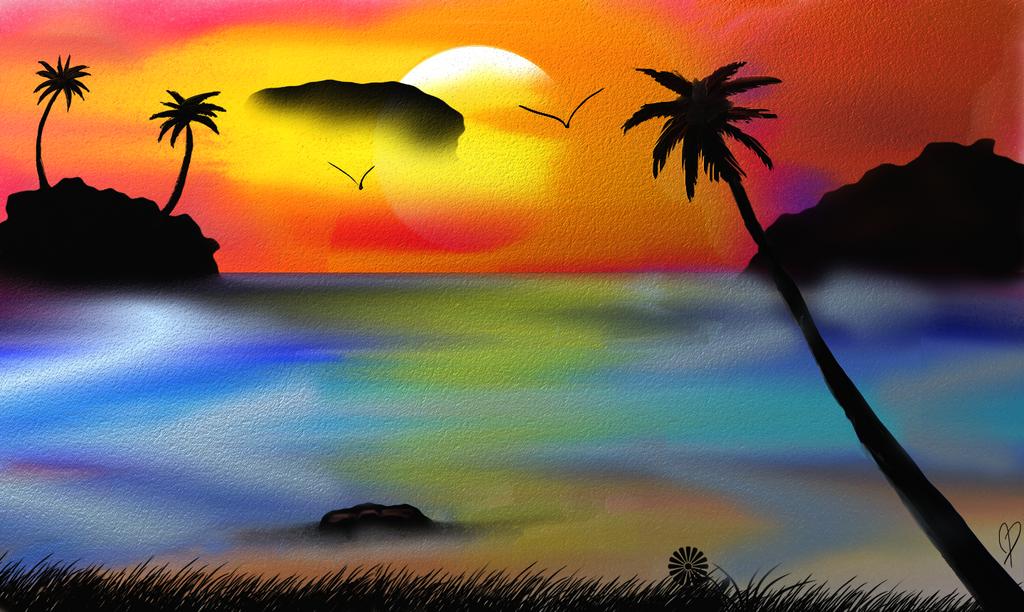 Beach by MissMaliceCrumpet
