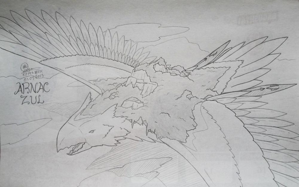 File 004 : Island Bird , Arnac-Zul by Raendric