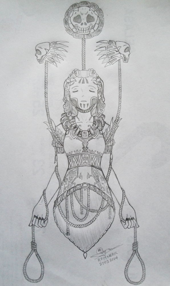 IXTAB : The Goddess of Suicide by Raendric