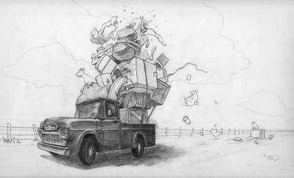 Moving Day by TeaCi
