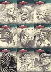 Marvel Masterpieces III Set 2 by jeffwamester