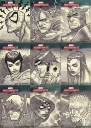 Marvel Masterpieces III Set 3 by jeffwamester
