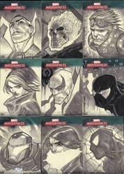 Marvel Masterpieces III Set 4 by jeffwamester