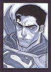 Superman Sketch Card