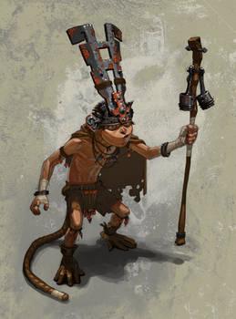 Monkey Boy, A king of Nothing