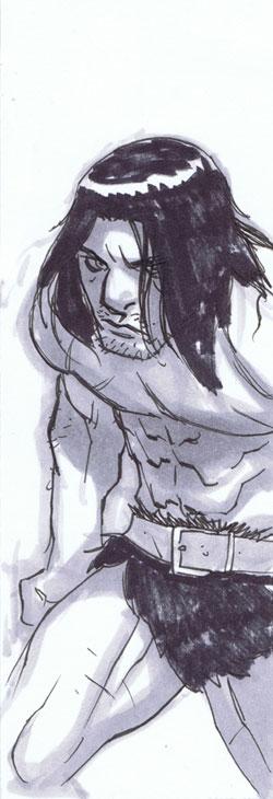 Barbarian Skratch by jeffwamester