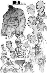 Sketchdump 5-26-2012 by jeffwamester
