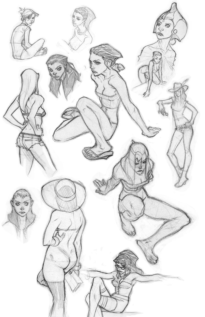 Sketchdump 6-1-2012 by jeffwamester