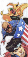 Marvel Premiere: Trifold Young Avengers