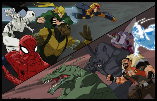 Versus ( Ultimate Spiderman )