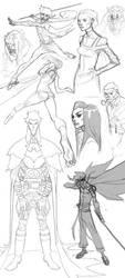 Sketch Dump 20140212 by jeffwamester