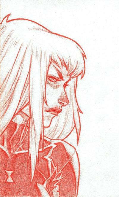 Black Widow by jeffwamester