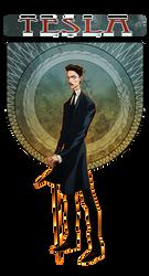 Electropunk Cast: Nikola Tesla by jeffwamester