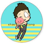 Austin and Squidgy sticker