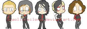 My Chemical Romance charm artwork