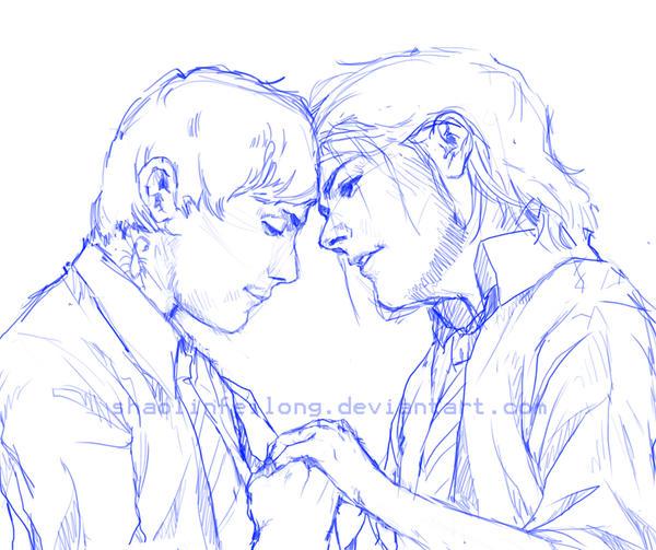 Frerard sketch by shaolinfeilong