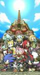 Sonic Adventure and Sonic Adventure 2 cast
