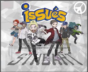 ISSUES Future Hearts Tour Pokemon Backdrop