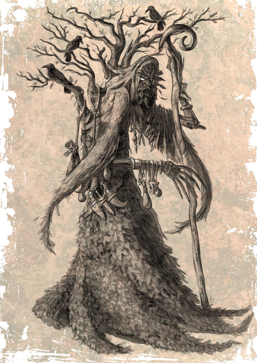 The Oakling Druid by Kid-Eternity
