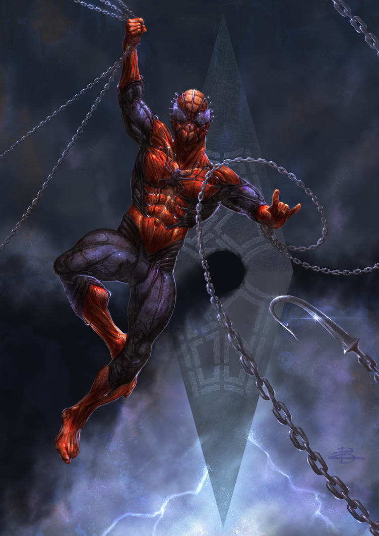 The Amazing Spiderman Cenobite! by Kid-Eternity