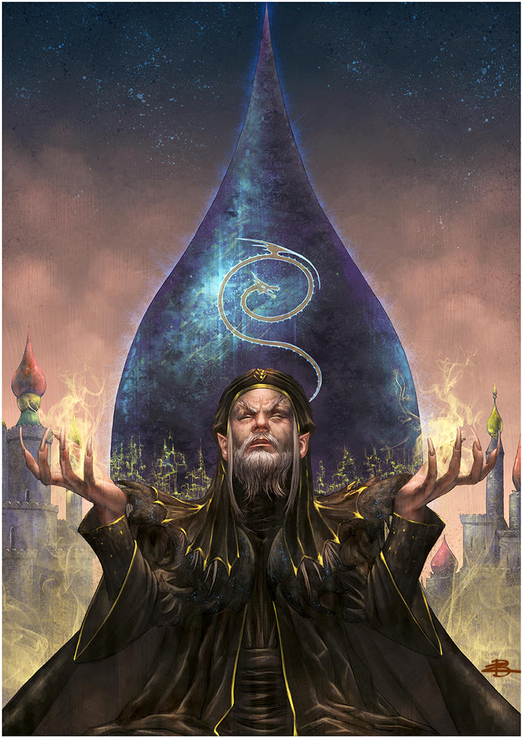 The Wizard Dolman by Kid-Eternity