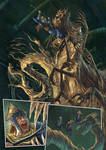 Oro page Monster battle by Kid-Eternity