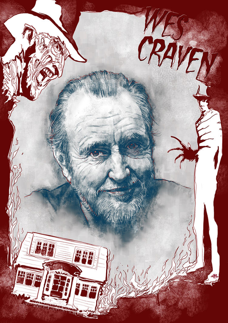 Wes Craven by Kid-Eternity