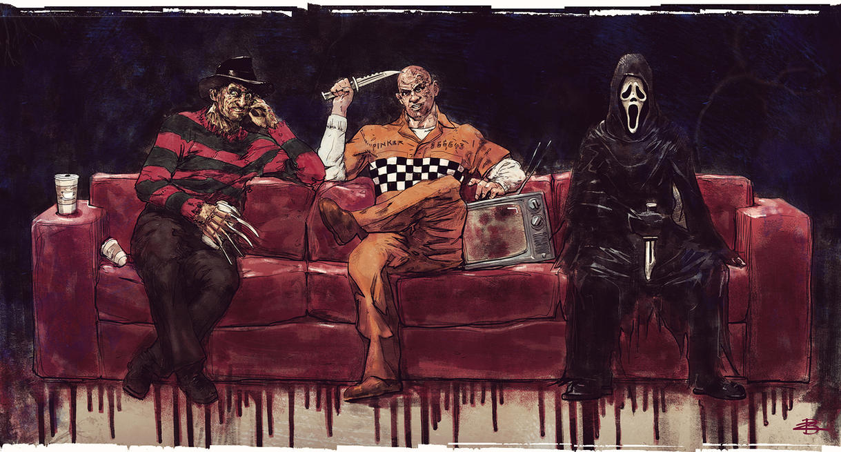 Three Killers Chilling by Kid-Eternity