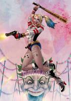 Harley Quinn by Kid-Eternity