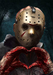 Jason Voorhees by Kid-Eternity