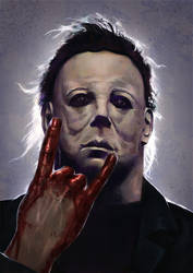 Michael Myers by Kid-Eternity