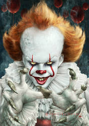 IT...IT...it is Pennywise! by Kid-Eternity