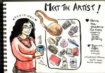 Meet the artist by Eleithel