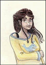 Apolline - sketch by Eleithel