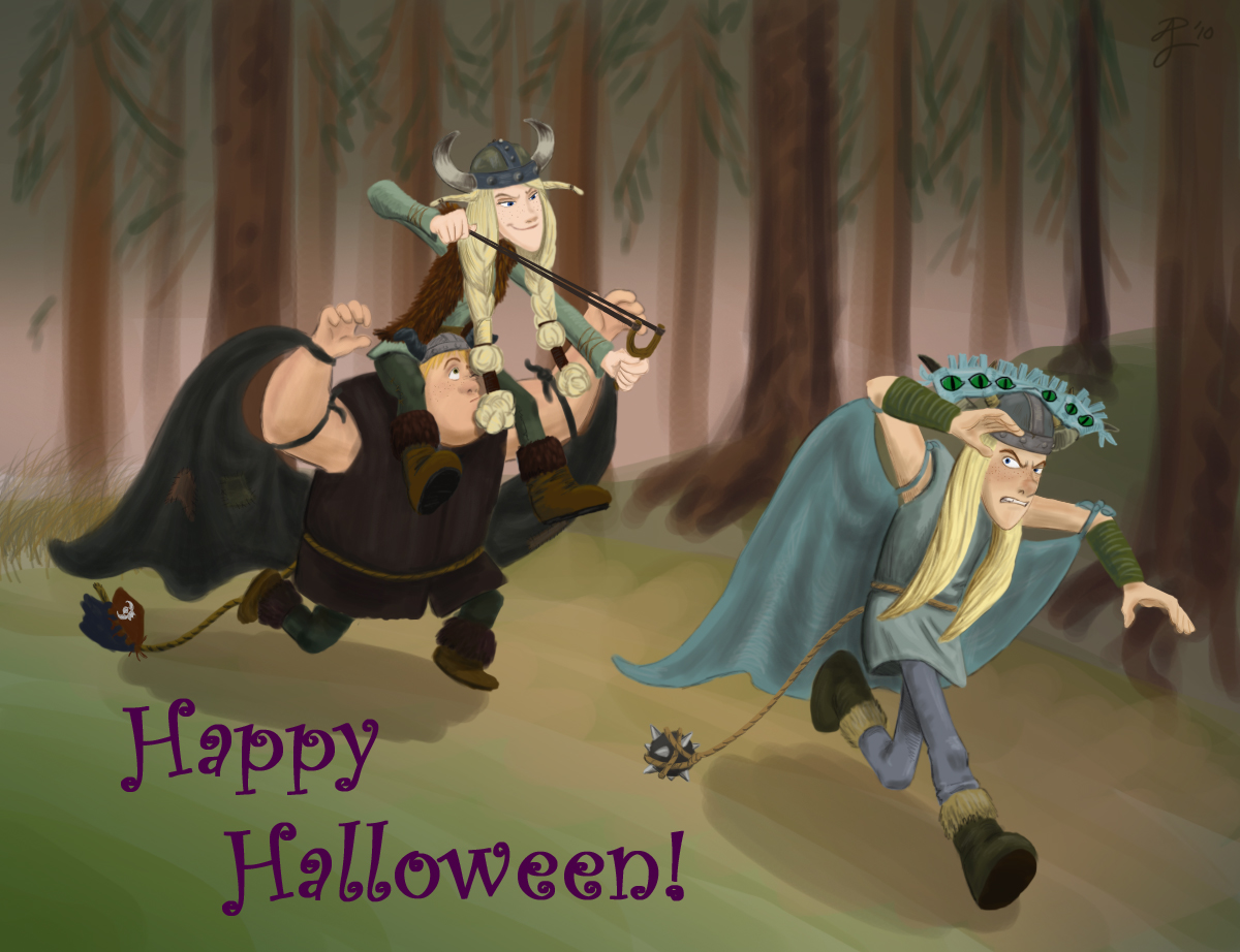 HTTYD - Happy Halloween by Contraltissimo
