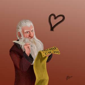 Hobbit Valentines ~ Balin
