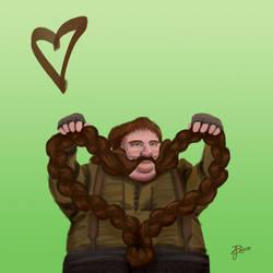 Hobbit Valentines ~ Bombur by Contraltissimo
