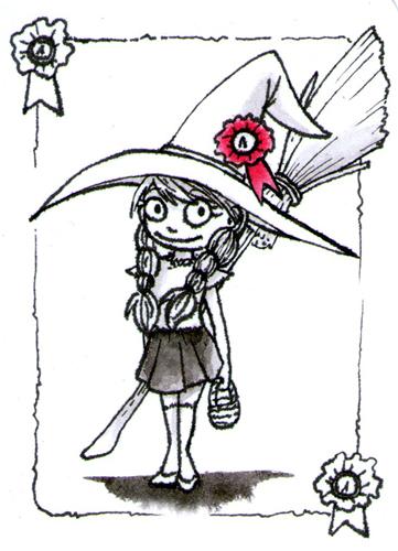 Inktober 2: Costume by Vampire-Eretica