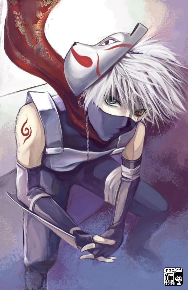 Awesome Illustrations of Kakashi Sensei