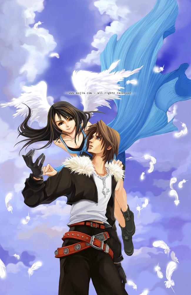 final fantasy 8 card game squall and rinoa