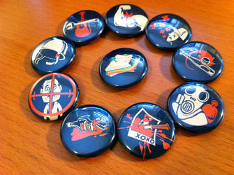 Team Fortress 2 Buttons by koloromuj