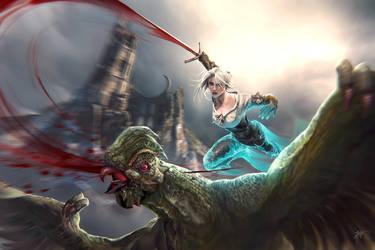 The Witcher : Wild Hunt Ciri