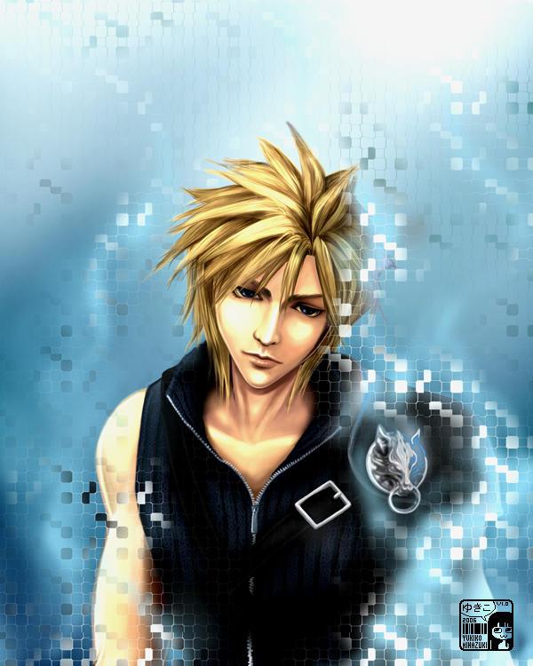 Final Fantasy Cloud Strife Wallpaper: Cloud By Koloromuj On DeviantArt