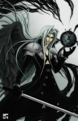 Sephiroth - Planet Corruption by koloromuj