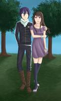 Hiyori and Yato [Noragami]